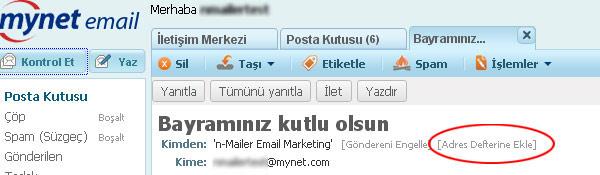 Mynet Mail